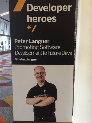 Peter Langner - Developer Hero 2016